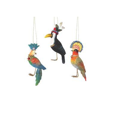 Gisela Graham Resin Parrot/Toucan