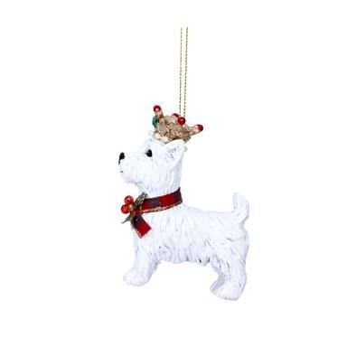 Resin/Diamante West Highland Terrier