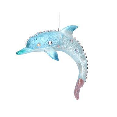 Gisela Graham Resin Dolphin