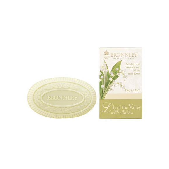 Bronnley Lily Of The Valley Soap (Single) - 100g