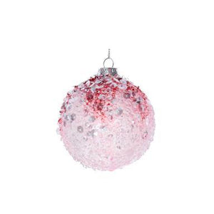 Giseka Graham  Opaque/Pink Crushed Acrylic Ball