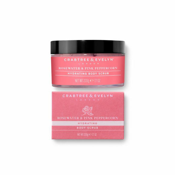 Crabtree & Evelyn Rosewater & Pink Peppercorn Body Scrub