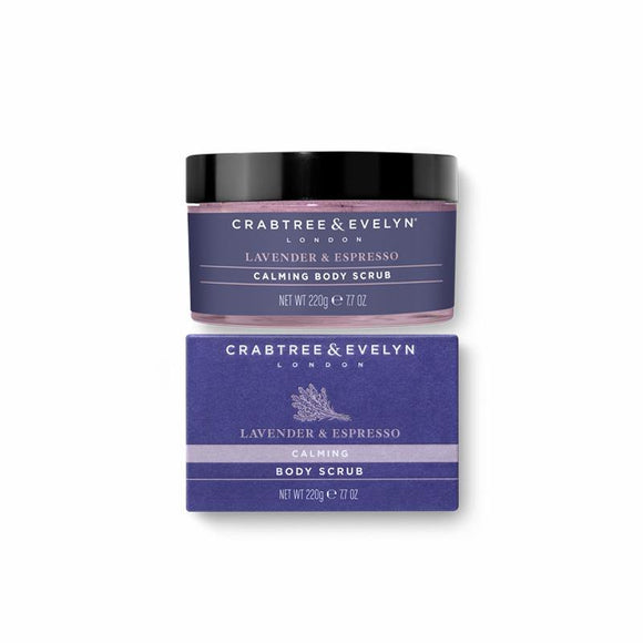 Crabtree & Evelyn Lavender & Espresso Body Scrub - 220g