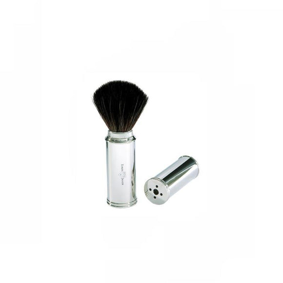 Edwin Jagger Travel Shave Brush Nickel