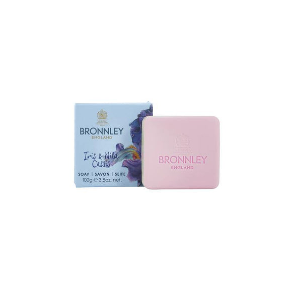 Bronnley Iris & Wild Cassis Soap - British Bespoke | Shop Bronnley Online - South Africa