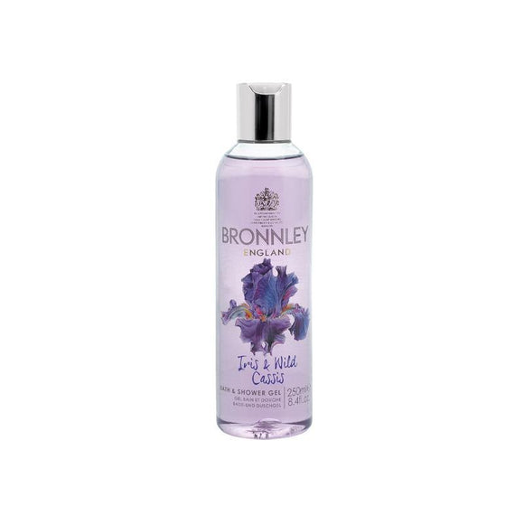 Bronnley Iris & Wild Cassis Bath & Shower Gel - 250ml