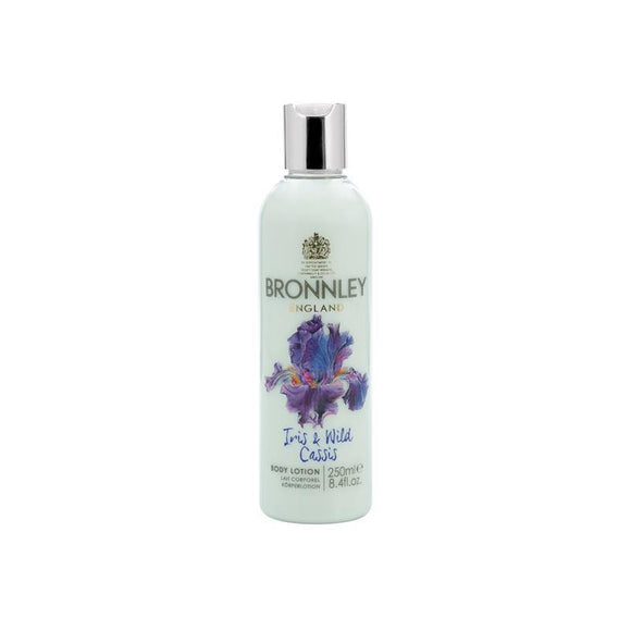 Bronnley Iris & Wild Cassis Body Lotion - British Bespoke | Shop Online - South Africa