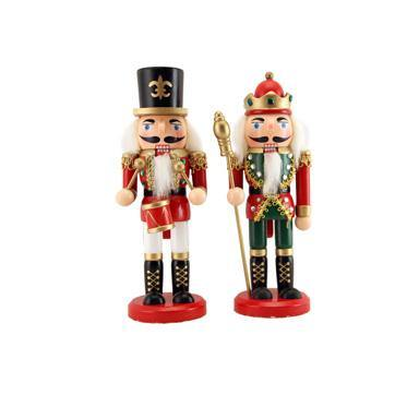 Gisela Graham Wood Nutcracker Orn 20cm x 6cm - British Bespoke | Shop Online - South Africa