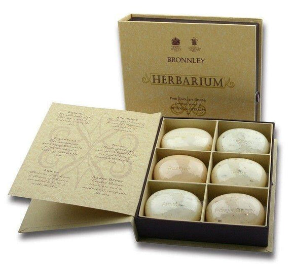 Bronnley Herbarium Soap Set Of 6 Gift Set