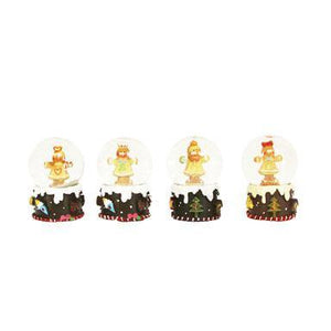 Gisela Graham Gingerbread' Mini Snowdome 4cm