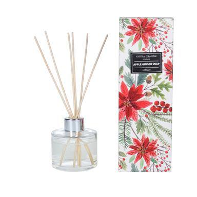 Gisela Graham Poinsettia Boxed Diffuser - British Bespoke | Shop Online - South Africa