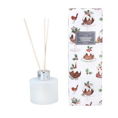 Gisela Graham Pudding Design Boxed Diffuser