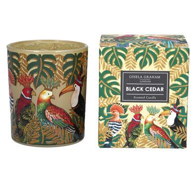 Gisela Graham  Regal Birds Boxed Candle Pot Large