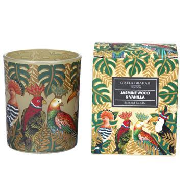 Gisela Graham Regal Birds Boxed Candle Pot Small - British Bespoke | Shop Online - South Africa