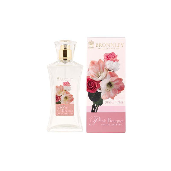 Bronnley Pink Bouquet Eau De Toilette - British Bespoke | Shop Bronnley Online - South Africa