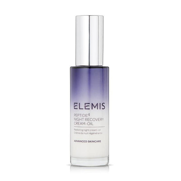 Elemis Peptide 4  Night Recovery Cream Oil