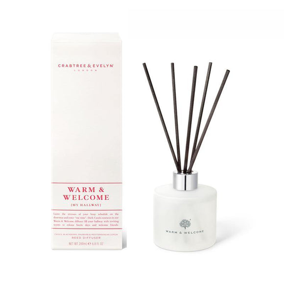 Crabtree & Evelyn Warm & Welcome Diffuser - 200ml