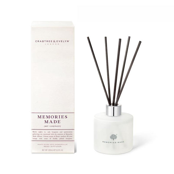 Crabtree & Evelyn Memories Made Reed Diffuser - 200ml