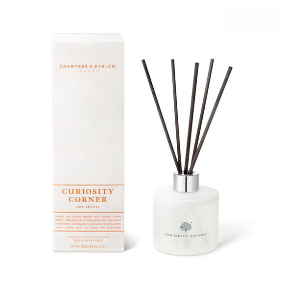 Crabtree & Evelyn Curiosity Corner Reed Diffuser - 200ml