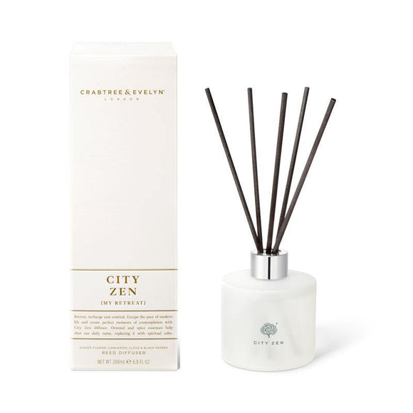 Crabtree & Evelyn City Zen Reed Diffuser - 200ml