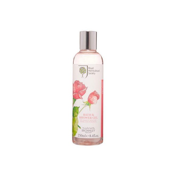 Bronnley RHS Rose Bath & Shower Gel