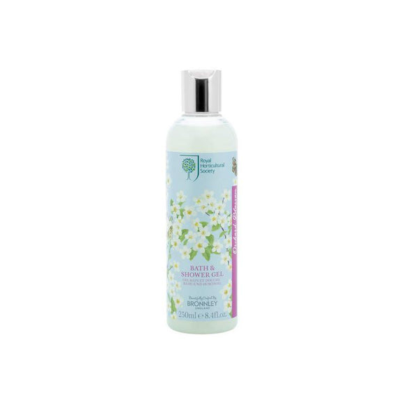 Bronnley RHS Orchard Blossom Bath & Shower Gel - 250ml