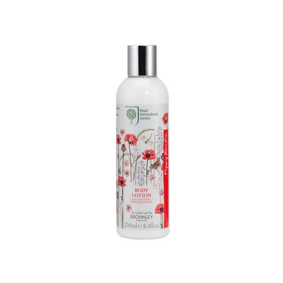 Bronnley RHS Poppy Meadow Body Lotion