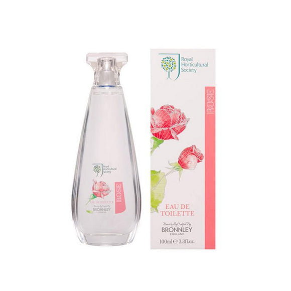 Bronnley RHS Rose Eau De Toilette - 100ml