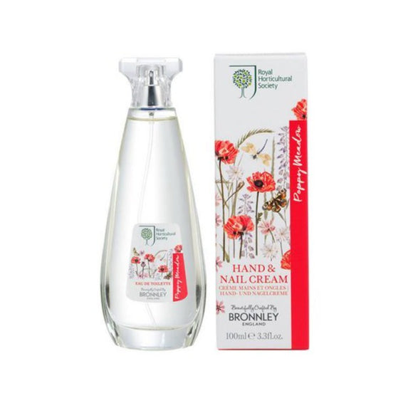 Bronnley RHS Poppy Meadow Eau De Toilette - 100ml