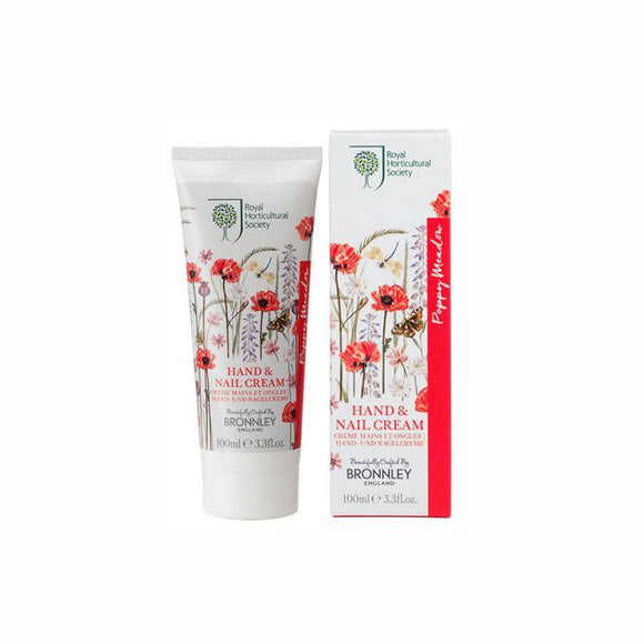 Bronnley Poppy Meadow Hand & Nail Cream