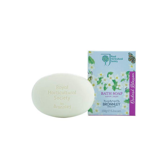 Bronnley RHS Orchard Blossom Soap (Single)
