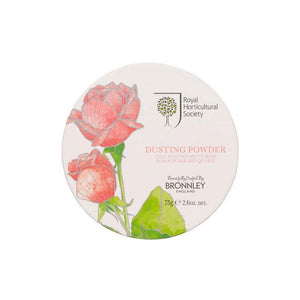 Bronnley RHS Rose Dusting Powder - 75g