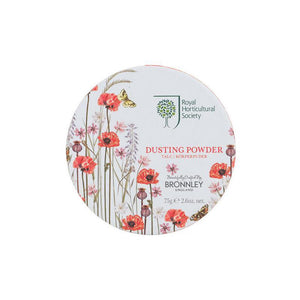 Bronnley RHS Poppy Meadow Dusting Powder - 75g