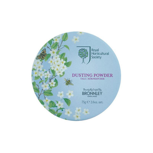 Bronnley RHS Orchard Blossom Dusting Powder - 75g