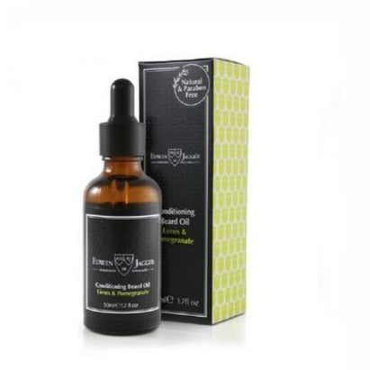 Edwin Jagger Conditioning Beard Oil (Limes & Pomegranate) - 50ml