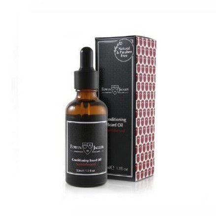 Edwin Jagger Conditioning Beard Oil (Sandalwood) - 50ml