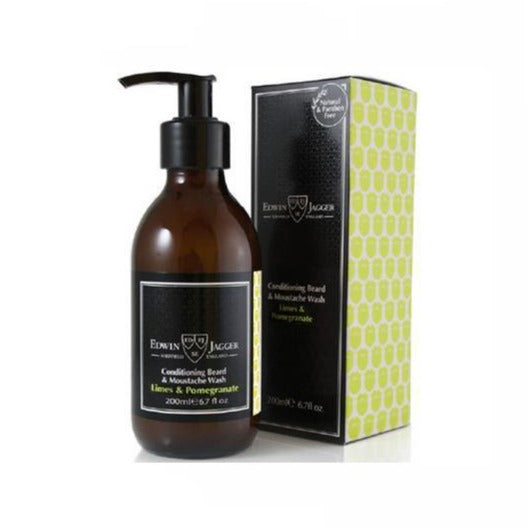 Edwin Jagger Beard & Moustache Wash (Limes And Pomegranate)