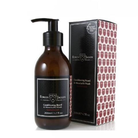 Edwin Jagger Beard & Moustache Wash (Sandalwood)