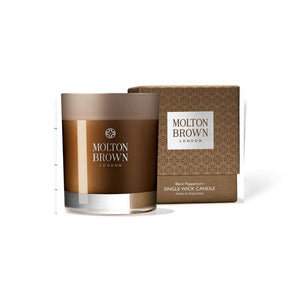 Molton Brown Black Peppercorn Single Wick Candle - British Bespoke | Shop Molton Brown Online - South Africa