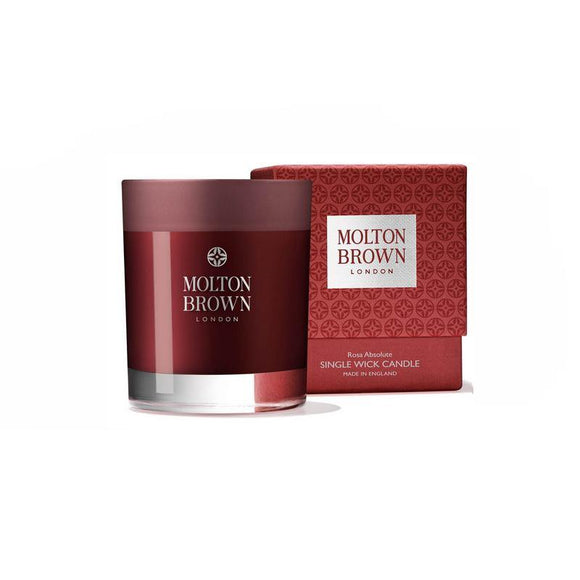 Molton Brown Rosa Absolute Single Wick Candle - British Bespoke | Shop Online - South Africa