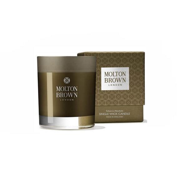 Molton Brown Tobacco Absolute Single Wick Candle - 180g