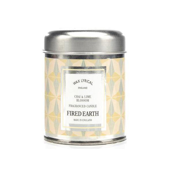 Wax Lyrical Chai & Lime Blossom Candle Tin - British Bespoke | Shop Online - South Africa