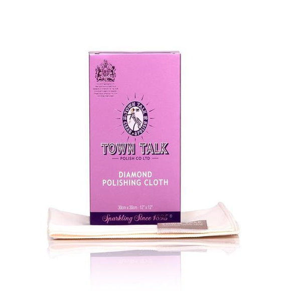 Town Talk- Diamond Polishing Cloth 30 x 30cm - British Bespoke | Shop Town Talk Online - South Africa