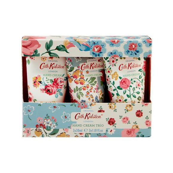 Cath Kidston Cottage Patchwork Hand Cream Trio - British Bespoke | Shop Online - South Africa