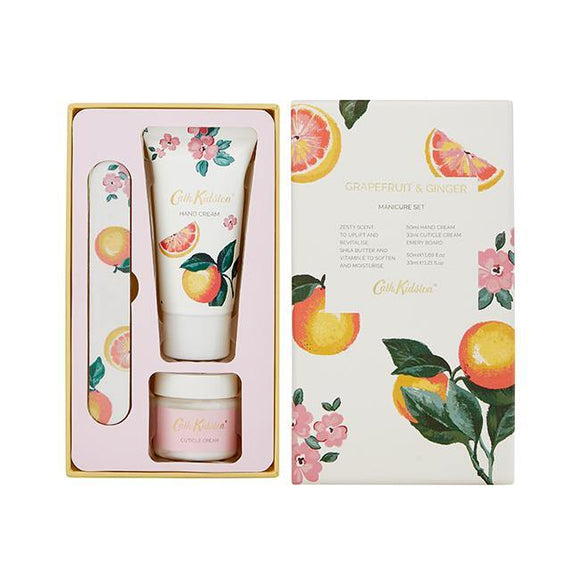 Cath Kidston Grapefruit & Ginger Manicure Set - British Bespoke | Shop Cath Kidston Online - South Africa