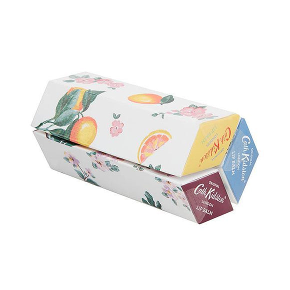 Cath Kidston Assorted Lip Balm Trio - British Bespoke | Shop Cath Kidston Online - South Africa