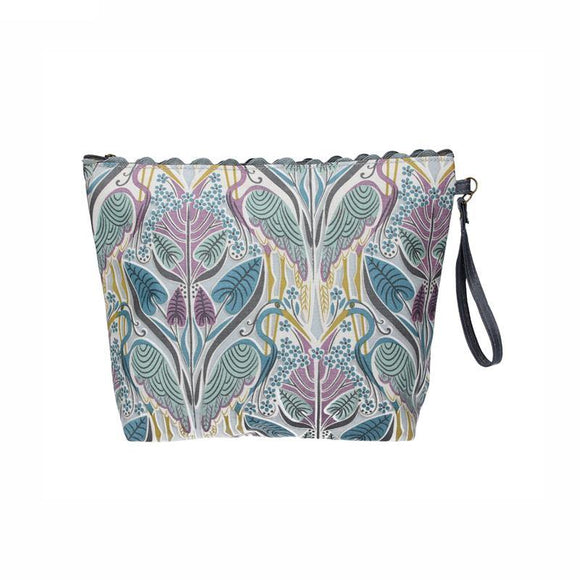 Gisela Graham Heron Ric Rac Washbag/ Toiletry Bag