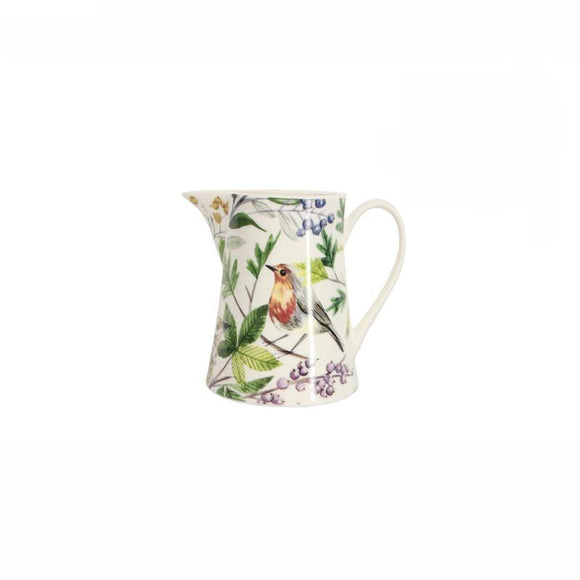 Gisela Graham Garden Birds New Bone China Small Jug