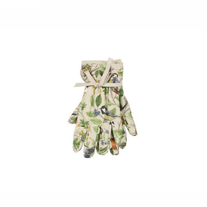 Gisela Graham Garden Birds Cotton Gardening Gloves