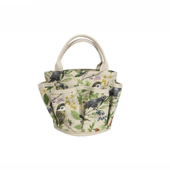 Gisela Graham Garden Birds Cotton Gardening Bag